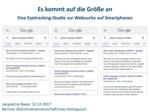 Es kommt auf die Größe an – Eine Eyetracking-Studie zur Websuche auf Smartphones