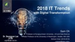 2018 IT Trends with Digital Transformation