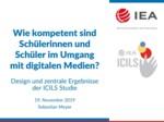 ICILS Studie 2018