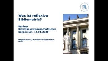 Was ist reflexive Bibliometrie?