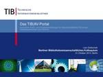 Das TIB AV-Portal – Innovative Such- und Analysewerkzeuge für wissenschaftliche Filme aus Naturwissenschaft und Technik