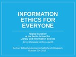Information Ethics for Everyone