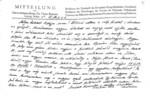Professor Hans Stumme levele Graggerhez