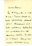 Knob Sándor levele Graggerhez