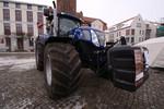Traktor mit Niederdruckreifen