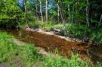 Sohlschwelle am Töpchiner Hauptgraben (Profilansicht)