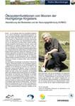Steckbriefe: Ökosystemfunktionen von Mooren der Hochgebirge Kirgistans - Abschätzung des Bestandes und der Nutzungsgefährdung (KIRMO)