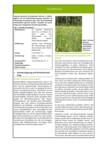 Steckbrief für Niedermoorbewirtschaftung bei unterschiedlichen Wasserverhältnissen: Nr. 06 - Extensiv genutzte Feucht- und Nasswiesen verschiedener Vegetationsausprägungen