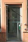 Eingang Geographisches Institut