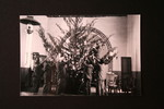 Inside Kratzenstein (Mphome) church, Hoffmann and his assistants decorating the Christmas tree for church celebrations
