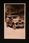 Missionary Hoffmann with his car