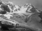 Ortler und Zebru von der Schaubach Hütte