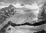 Blick auf Ramolhaus und Gurgler Ferner vom Ötztaler Gletscher