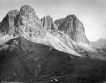 Grohmannspitze, Fünffingerspitze und Langkofleck  (vom Col de Rodella)