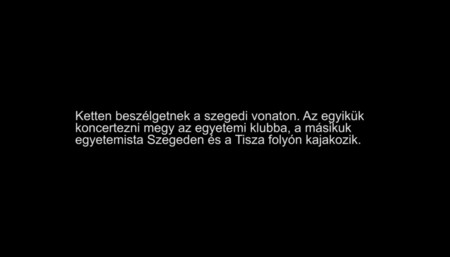 Koncert és kajak (felirattal / with subtitles)