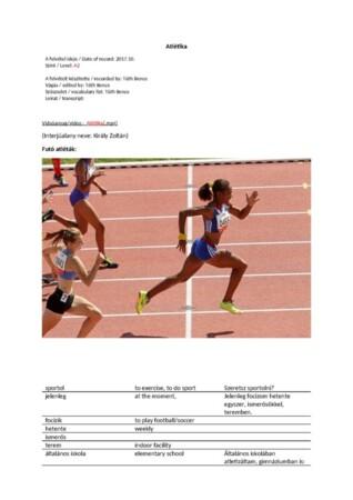 Atlétika (1)