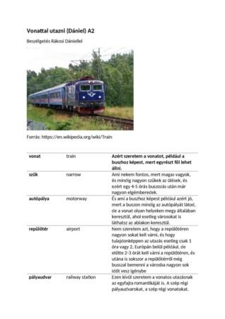 Vonattal utazni (Dani) (2)