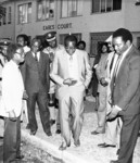 Mugabe condoling with Marechera after Tsitsis death