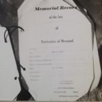 Memorial record