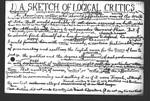 A Sketch of Logical Critics