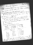 Numerical Equations