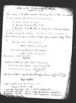 Notes on the Fundamentals of Algebra