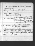 [A Problem in Probabilities]