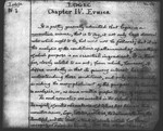Chapter IV. Ethics