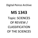 Of the Classification of the Sciences. Second Paper. Of the Practical Sciences