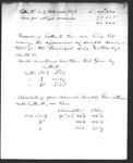 [Record of Pendulum Experiments]