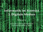 3. Digitale Medien