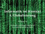4. Globale Vernetzung