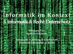 05. Informatik und Recht