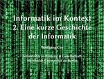 02. Eine kurze Geschichte der Informatik