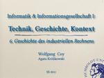 06. Die Geschichte des industriellen Rechnens