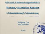 03. Industrialisierung & Automatisierung