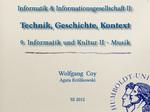 10. Informatik & Kultur II — Musik